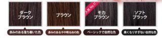 白髪染めトリートメント「ルプルプ」のカラーの種類