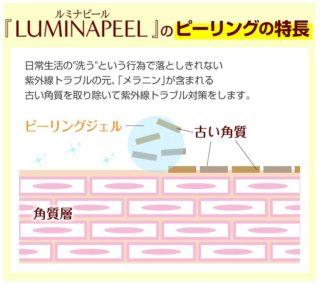 ルミナピールピーリングの特徴