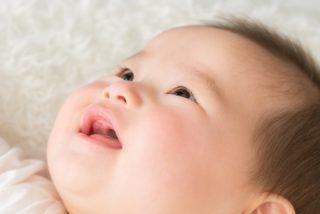 ラメラ構造がほぼ完ぺきな赤ちゃんの肌