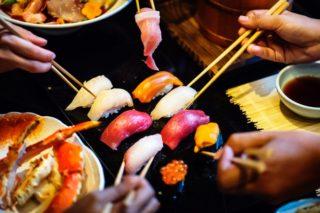 鮭・エビ・いくらのお寿司