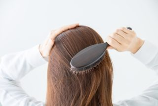 頭皮の摩擦