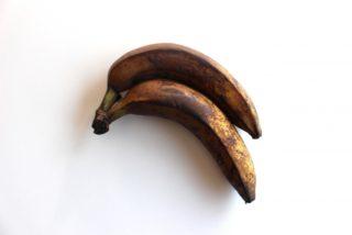 酸化したバナナ