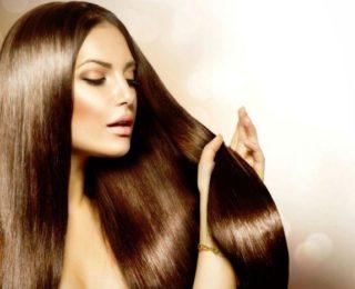 髪のきれいな女性