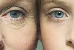 老化した肌