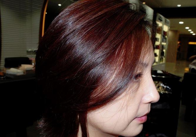 女性の髪12
