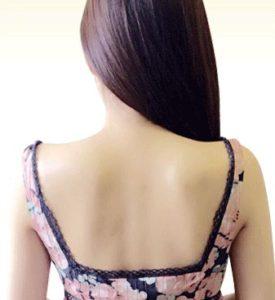 綺麗な背中