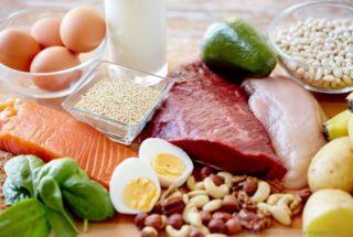 アミノ酸をふくむ食べ物